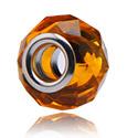 Beads, Glas-Bead für Bead Bracelets, Chirurgenstahl 316L, Glas