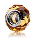 Bead, Glass Bead for Bead Bracelets, Acciaio chirurgico 316L, Vetro
