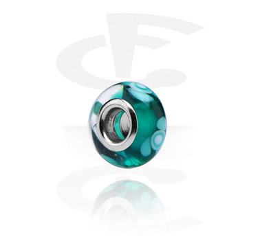 Glazen bead voor beadsarmbanden