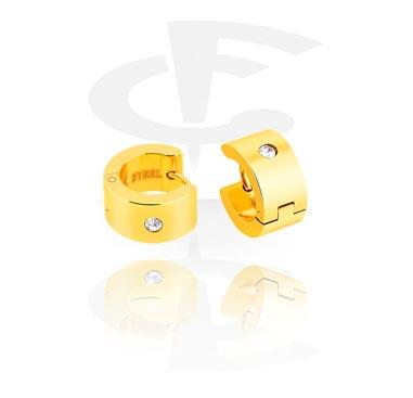 Earrings, Studs & Shields, Earrings, Gold Plated Surgical Steel 316L