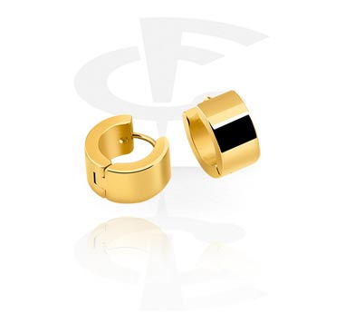Korvakorut, Earrings, Gold Plated Surgical Steel 316L