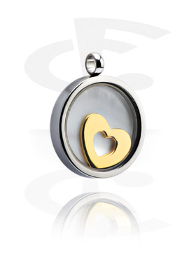 Pendant med Heart Design