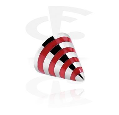 Stripete cone i stål