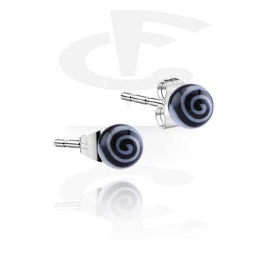 Swirl Ear Studs