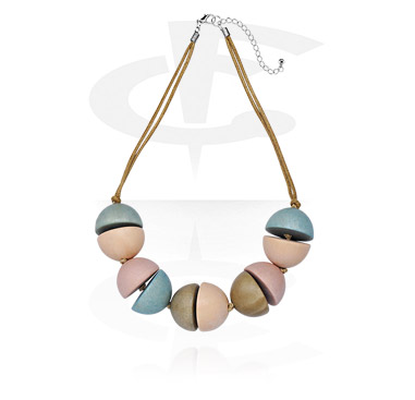 Fashion Necklace<br/>[Wood]