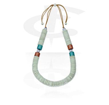 Naszyjniki, Fashion Necklace<br/>[Wood], Wood
