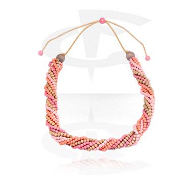 Naszyjniki, Fashion Necklace, Wood