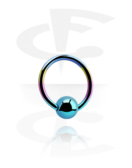 Piercing Rings, Ball Closure Ring, Titanium