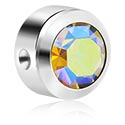 Kulki i inne zakończenia, Jeweled Disk for Ball Closure Rings, Titanium