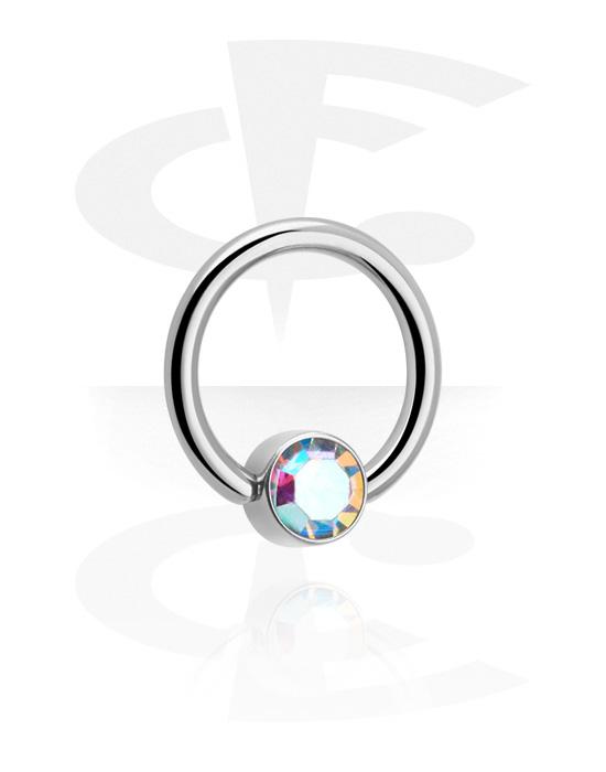 Piercingové kroužky, Ball closure ring, Titan