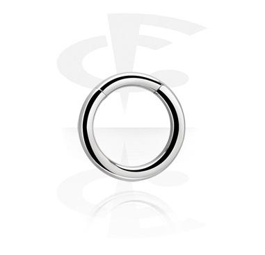 Alke za piercing, Segmentni prsten, Titanium