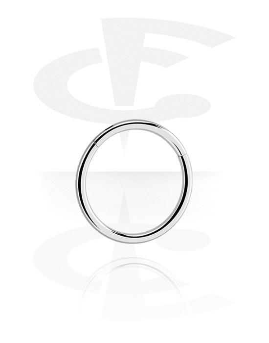 Piercing Rings, Multi-Purpose Clicker, Titanium