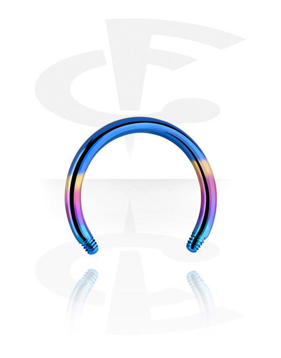 Palloja, nappeja ynnä muuta, Circular Barbell Pin, Titaani