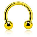 Circular Barbell, Circular barbell, Titanio