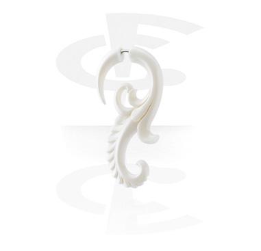 Fake Piercings, Hand-carved Fake Claw, Bone