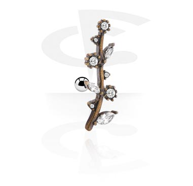 Helix / Tragus, Tragus Piercing, Surgical Steel 316L