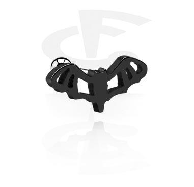 Piercing negro para el hélix