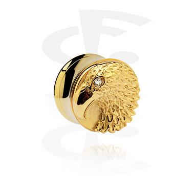 Flesh Tunnel 3D banhado a ouro