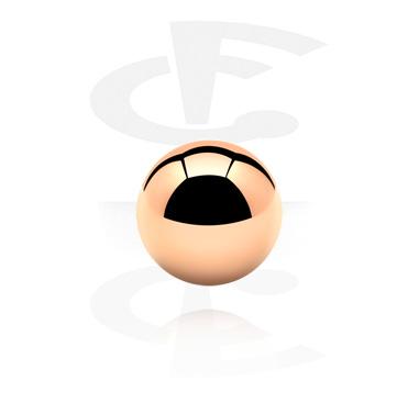 Punakullanvärinen pallo