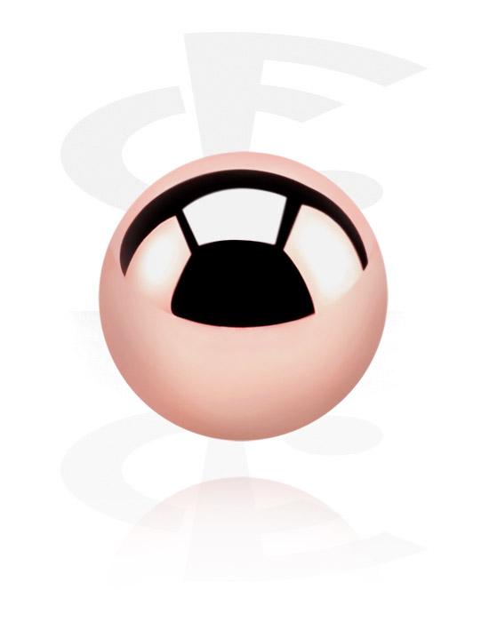 Kulki, igły i nie tylko, Ball, Stal chirurgiczna powlekana różowym złotem 316L