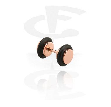 Roségold Fake Plug