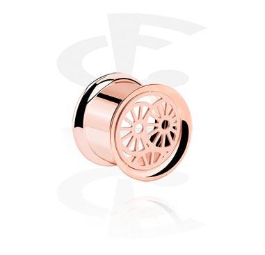 Туб цвета розового золота