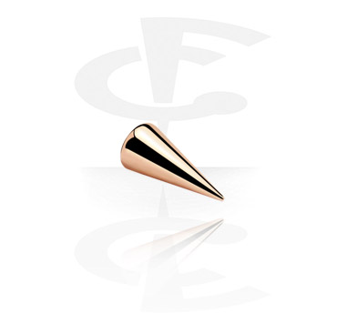 Long Cone<br/>[Surgical Steel 316L/Rosegold]