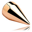 Kuglice i zamjenski nastavci, Spike<br/>[Surgical Steel 316L/Rosegold], Rose Gold Plated Steel