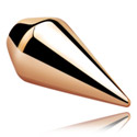 Kuglice i zamjenski nastavci, Spear Cone<br/>[Surgical Steel 316L/Rosegold], Rose Gold Plated Steel