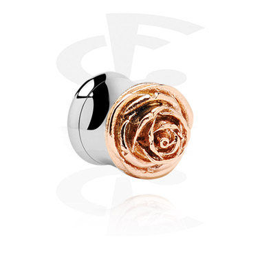 Rosegold Double Flared Tube