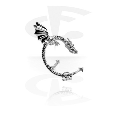 Fake Piercings, Ear Cuff, Surgical Steel 316L