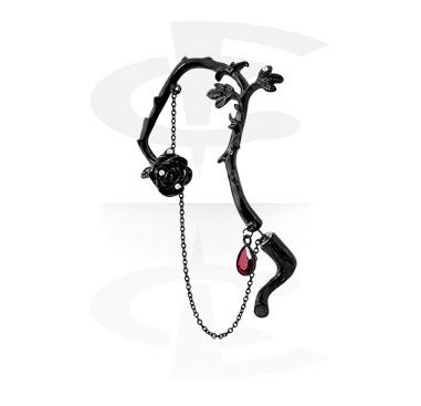 Earrings, Studs & Shields, Ear Cuff, Surgical Steel 316L