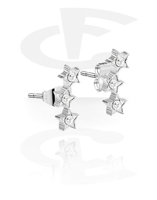 Náušnice, Ear Studs, Chirurgická ocel 316L