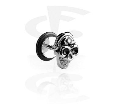 Falešné piercingové šperky, Fake Plug, Surgical Steel 316L