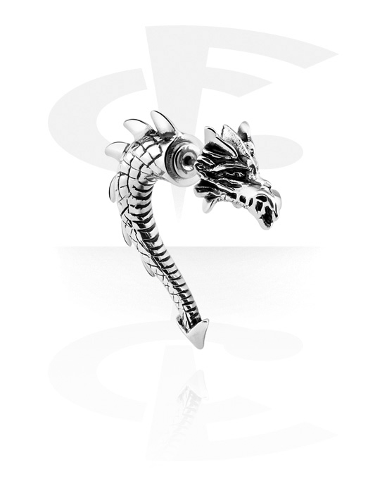 Piercing fake, Fake claw, Acciaio chirurgico 316L
