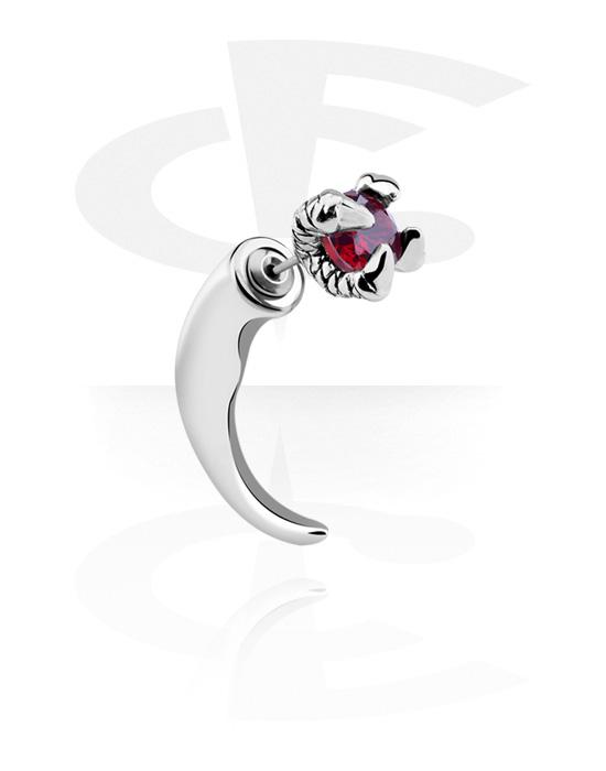 Falešné piercingové šperky, Fake claw, Chirurgická ocel 316L