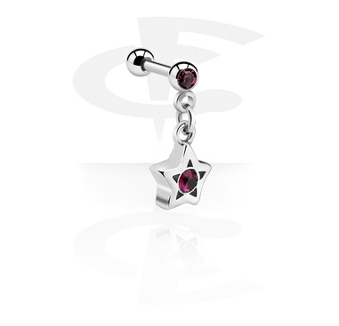 Helix / Tragus, Helix Barbell, Surgical Steel 316L