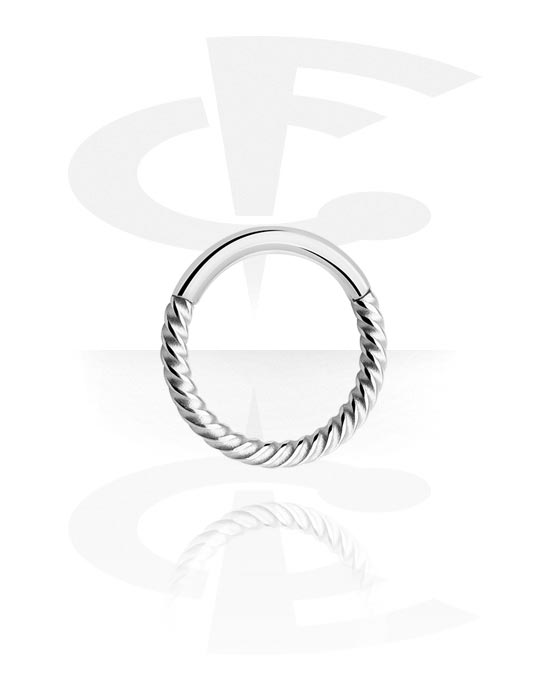 Piercingringen, Multifunctionele clicker, Chirurgisch staal 316L