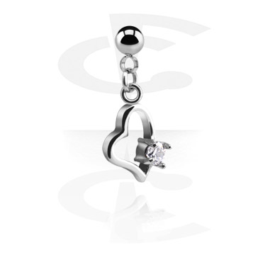 Kuličky a náhradní koncovky, Ball with Charm for 1.2mm Pins, Surgical Steel 316L