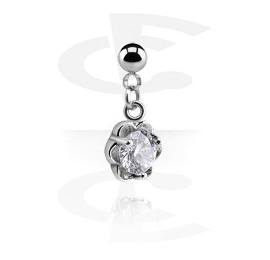 Kuglice i zamjenski nastavci, Ball with Charm for 1.2mm Pins, Surgical Steel 316L