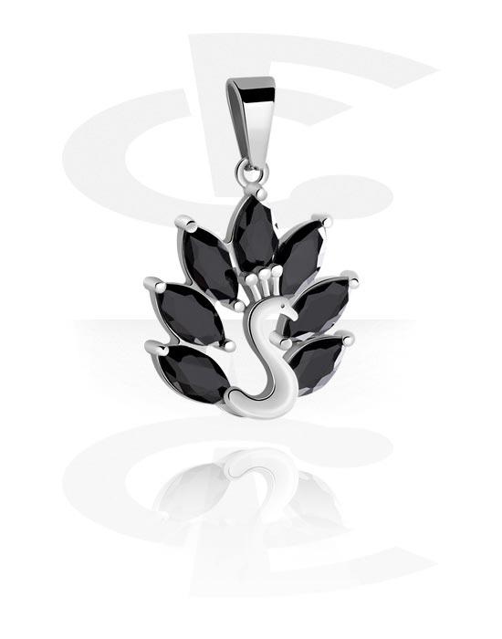 Riipukset, Pendant kanssa Swan Design, Kirurginteräs 316L