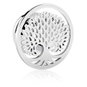 Tunnels & Plugs, Tunnel met tree design, Chirurgisch staal 316L