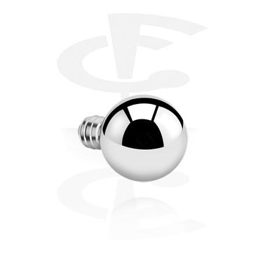 Balls & Replacement Ends, Ball for Internally Threaded Pin, Titanium