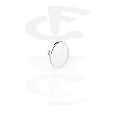 Round Disc de Internally Threaded Pin