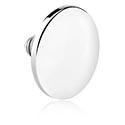 Boules et Accessoires, Round Disc pour Internally Threaded Pin, Titane