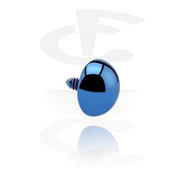 Pallot ja koristeet, Half Ball for Internally Threaded Pins, Titanium