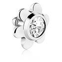 Boules et Accessoires, Titanium Jeweled Flower, Titane