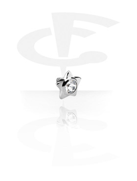 Titanium Jeweled Star