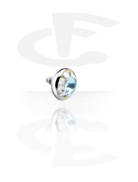 Titanium Chrystaline Jeweled Disc