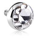 Pallot ja koristeet, Titanium Chrystaline Jeweled Disc, Titanium